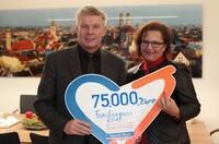 Sparda-Bank München fördert Familienpass mit 75.000 Euro
