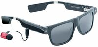 simvalley MOBILE Smart Glasses SG-100.bt, Bluetooth & 720p HD