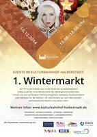 Erster Wintermarkt im Kulturbahnhof Halberstadt