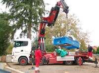 Abgehoben: Großer Shaker am Fraunhofer LBF bekommt neuen Einsatzort