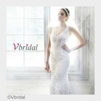 Feiern Sie eine romantische Winterhochzeit mit Brautkleidern von Vbridal