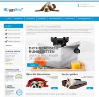 DoggyBed Hundebetten Manufaktur-Shop glänzt nach Relaunch