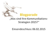 """Blogparade: """"Was sind Ihre Kommunikations-Strategien 2015?"""""""