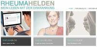 Neue Webseite von Patienten für Patienten bei rheumatoider Arthritis: rheumahelden.de