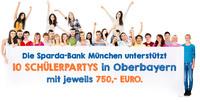 Gemeinsam mehr erreichen: Sparda-Bank München unterstützt 10 Schülerpartys mit jeweils 750 Euro
