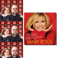 Roland Rube und Ariane Kranz On Air mit Mary Roos
