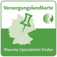 """Datenbank """"Versorgungslandkarte"""" der Deutschen Rheuma-Liga zeigt, wo es Hilfe von Rheuma-Spezialisten gibt."""