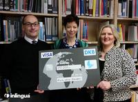 inlingua überreichte 10.000-Euro-Spendenscheck an Ärzte ohne Grenzen