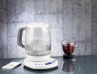 Rosenstein & Söhne App-gesteuerter Wasserkocher mit Glaskanne