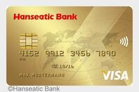 Goldenes Vorteilspaket - Die neue GoldCard der Hanseatic Bank bietet mehr als eine klassische Kreditkarte