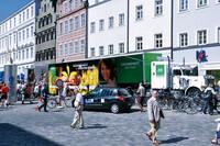 Gesundheit on Tour - mit dem AOK-Truck von inovisco Mobile Media AG