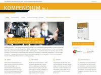 Das KOMPENDIUM Nr.1 - Das große Branchenbuch der Film- und TV-Produktionsgesellschaften startet mit neuem Webauftritt zur zweiten Ausgabe