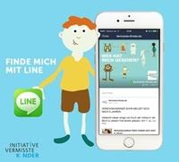 """LINE und """"Initiative vermisste Kinder"""" unterstützen Eltern bei der Suche nach ihren vermissten Kindern"""