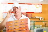 Moderne und praktische Verpackungen für den Pizzaservice