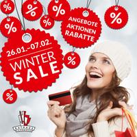 Großer Winter-Schluss-Verkauf in den Rathauspassagen Halberstadt