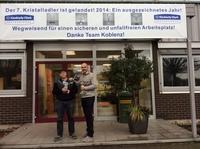 KIMBERLY-CLARK PROFESSIONAL*: Werk in Koblenz erhält Auszeichnungen für unfallfreies Arbeiten