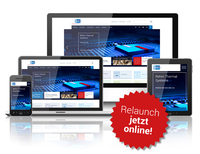 Rehm Thermal Systems Homepage in neuem Design
