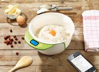 Rosenstein & Söhne Digitale Küchenwaage mit App-Steuerung