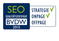 Puetter GmbH mit BVDW SEO-Qualitätszertifikat ausgezeichnet
