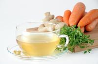 Gemüsetee Ingwer-Karotte: Gesundes Duo zum Kraft tanken und Wohlfühlen