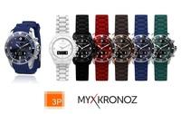 3P bringt neue MyKronoz Designer Smartwatch ZeClock
