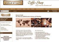 World of Caffe - die neue Welt des exklusiven Kaffeegeschmacks