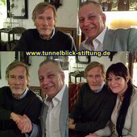 Horst Janson übernimmt die Schirmherrschaft für die Tunnelblick Stiftung von Mikel Marz!