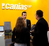 Software caniasERP zum ersten Mal auf der IT&Media