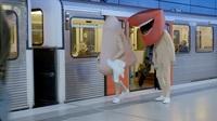 """Aktionstage mit """"Mund"""" und """"Nase"""" in Hamburger S-Bahnen"""