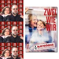 Roland Rube und Ariane Kranz On Air mit Stefan Jürgens