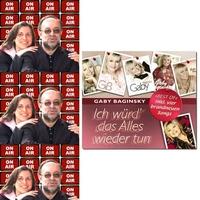 Roland Rube und Ariane Kranz On Air mit Gaby Baginsky