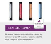 Nominiert für Wellness & Spa Innovation Award: Helios Spectral
