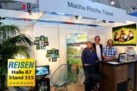 Machu Picchu Travel auf der Messe REISEN Hamburg vom 4.-8.2.2015