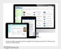 Kaseya Release 9 – umfassendes Mobilitätsmanagement und neue Cloud-Infrastruktur mit unerreichter Skalierbarkeit, Sicherheit und Leistung