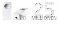 Neuer Powerline-Meilenstein: devolo liefert über 25 Mio. dLAN® Adapter aus