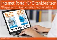 Internet-Portal für Öltankbesitzer