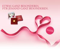 Rosen welken, doch Geschenkideen von Münze Österreich glänzen ein Leben lang
