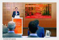Sharp präsentiert seine neue Farbkalibrierungs-Technologie auf der ISE