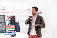 """Öffentliches Seminar """"Speech Pad - rhetorisch überzeugen"""" mit Patrick Nini"""