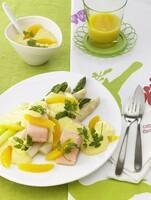 Knorr Produkte und kreative Rezepte setzen Spargel in Szene