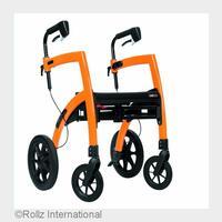Rollstuhl-Rollator Rollz Motion: Schnell umgebaut - Der Rollator wird zum Rollstuhl