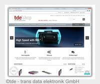 Digitaler Vorreiter: tde bietet als erster Netzwerkspezialist europaweiten Webshop