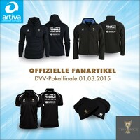 DVV-Pokalfinale: offizieller Ausrüster artiva präsentiert die Fankollektion