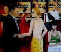 Menschliches, Allzumenschliches - Ölbilder von Angelika Welter