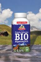 Berchtesgadener Land erweitert Bio-Sortiment um fettarme   250 ml Bio-Alpenmilch zum Mitnehmen