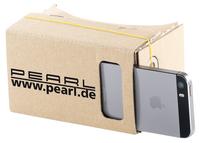 """PEARL Virtual-Reality-Brillen für Smartphones von 4"""" bis 5"""""""