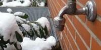 Trotz mildem Winter: Schäden an wasserführenden Leitungen