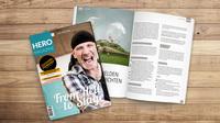 """Endlich da: Die erste Ausgabe des werdewelt """"Hero Magazine"""" ist jetzt im Handel erhältlich"""