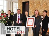 Hotel des Jahres 2014  Der Award geht nach Usedom