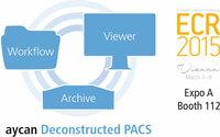 Deconstructed PACS und Structured Reporting von aycan auf dem ECR 2015 in Wien